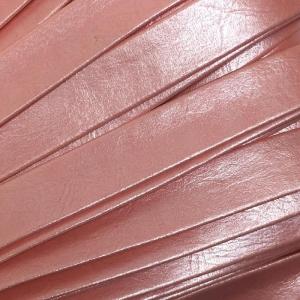 Шнур декоративный кожзам 10мм розовый 2148 уп 10 м