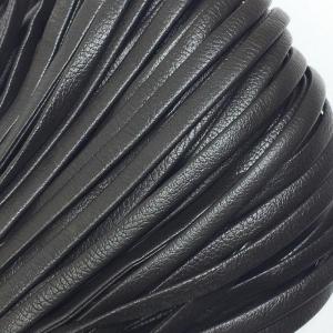 Шнур декоративный кожзам 4мм коричневый 2147 уп 10 м