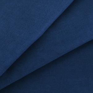 Ткань на отрез сатин гладкокрашеный 250 см 19-4026 цвет синий океан