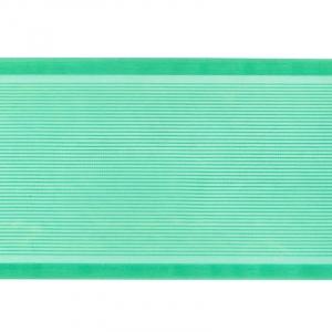 Лента для бантов ширина 80 мм цвет зеленый 1 метр