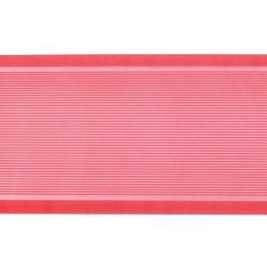 Лента для бантов ширина 80 мм цвет красный 1 метр