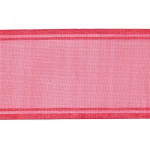 Лента для бантов ширина 80 мм цвет малина 1 метр