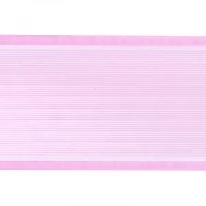 Лента для бантов ширина 80 мм цвет розовый 1 метр