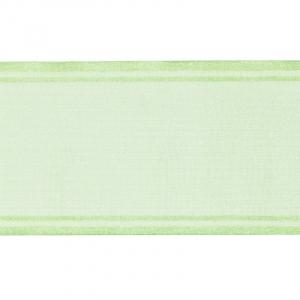 Лента для бантов ширина 80 мм цвет салатовый 1 метр