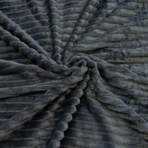 Ткань на отрез велсофт Orrizonte 300 гр/м2 200 см 006-ОT цвет серый