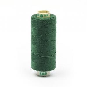 Нитки бытовые Dor Tak 40/2 366м 100% п/э, цв.565 зеленый