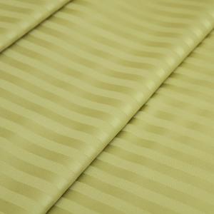Ткань на отрез страйп сатин полоса 1х1 см 220 см 135 гр/м2 цвет 312 фисташковый