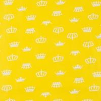 Ткань на отрез бязь плательная 150 см 1694/8 цвет желтый