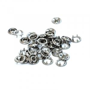 Кнопка Strong рубашечная 9,5 мм никель уп 60 шт
