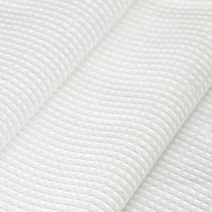 Ткань на отрез вафельное полотно отбеленное 45 см 140 гр/м2