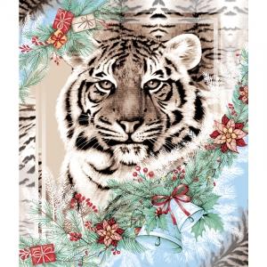 Вафельное полотно 50 см 170 гр/м2 209311 Год тигра 1
