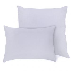 Наволочка на молнии Трикотаж цвет серый в упаковке 2 шт 70/70 см