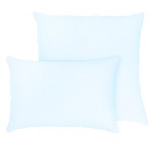 Наволочка на молнии Трикотаж цвет светло-голубой в упаковке 2 шт 70/70 см