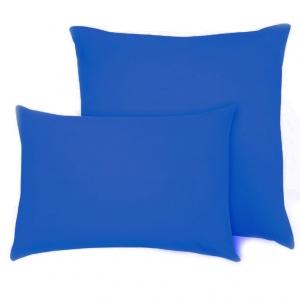 Наволочка на молнии Трикотаж цвет синий в упаковке 2 шт 70/70 см