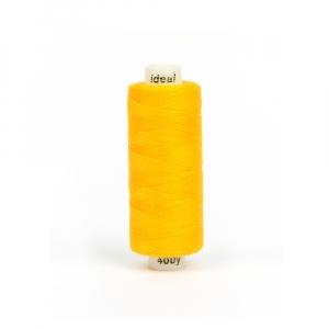 Нитки бытовые IDEAL 40/2 366м 100% п/э, цв.138 желтый