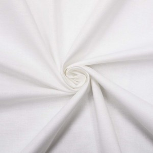 Ткань на отрез рогожка 150 см отбеленная