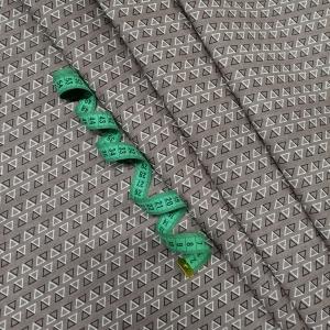 Ткань на отрез бязь плательная 150 см 9962/8 цвет темно-бежевый