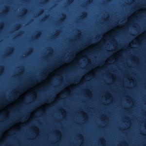 Плюш Минки Китай 180 см на отрез цвет василек