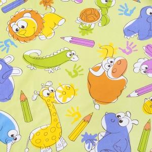Ткань на отрез бязь ГОСТ Шуя 150 см 98601 Зоопарк