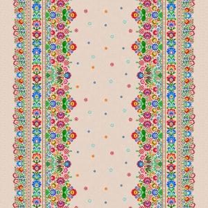 Рогожка 150 см набивная арт 904 Тейково рис 18879 вид 1
