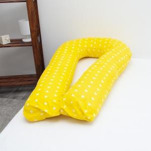 Подушка для беременных U-образная 1700/8 цвет желтый