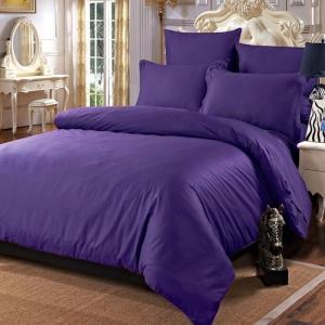 Постельное белье сатин 19-3622 Фиолетовый 1.5 сп