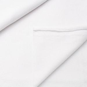Ткань на отрез флис цвет Белый
