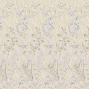Бельевое полотно 220 см набивное арт 234 Тейково рис 6694 вид 1 Янтарный сад