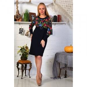Платье Леся интерлок размер 44