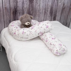 Наволочка на подушку для беременных U-образная 1794/1 поплин