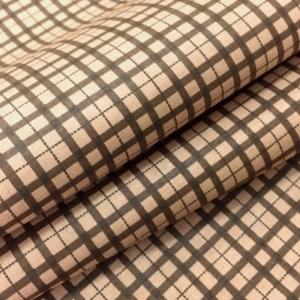 Ткань на отрез сатин набивной 80 см 5621/2 Марсель цвет коричневый