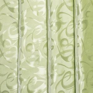 Портьерная ткань 150 см на отрез 21 цвет салатовый
