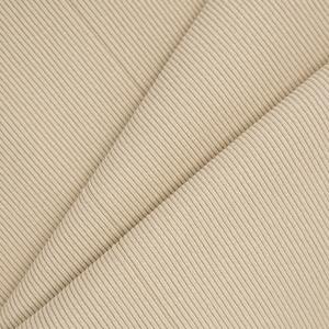 Ткань на отрез кашкорсе 3-х нитка с лайкрой цвет светлый кемел (Уценка)
