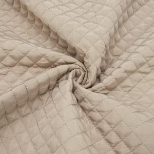 Курточная ткань на отрез цвет кремовый