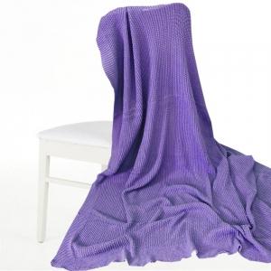 Покрывало-плед Петелька 180/200 цвет фиолетовый
