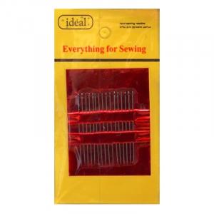 Иглы IDEAL ТВ НN-08 №5 для ручного шитья 40мм уп 16 игл