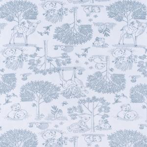 Ткань на отрез интерлок Лесная сказка 5323-19