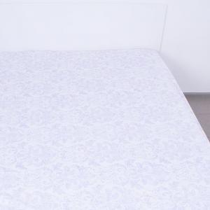 Простынь на резинке поплин 7363 компаньон 140/200/20 см
