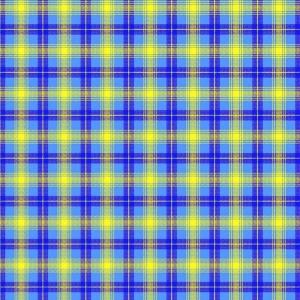 Вафельное полотно 80 см 140 гр/м2 1170/3 Клетка цвет синий