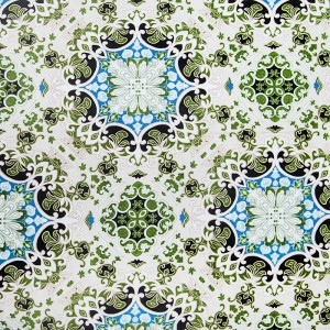 Ткань на отрез Тик 80 см цвет цветочек