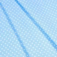 Бязь плательная 150 см 1359/23 цвет голубой