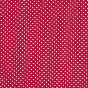 Ткань на отрез бязь плательная 150 см 1590/20 цвет красный