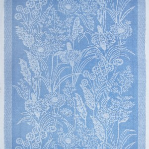 Ткань на отрез полулен полотенечный 50 см Жаккард 1/585/13