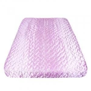 Покрывало шелк цвет розовый 150/210