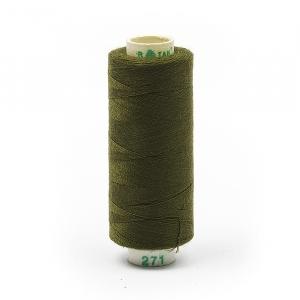 Нитки бытовые Dor Tak 20/3 джинсовые 183м 100% п/э, цв.271
