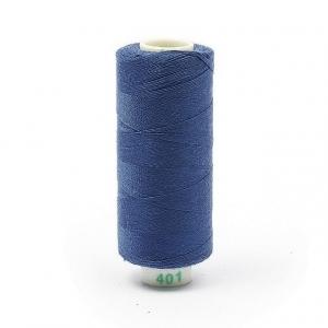 Нитки бытовые Dor Tak 20/3 джинсовые 183м 100% п/э, цв.401