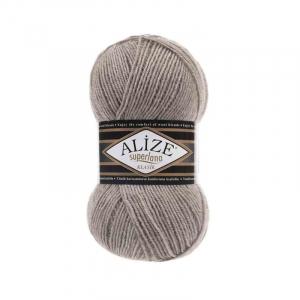 Пряжа ALIZE SUPERLANA KLASIK 207-светло-коричневый (25% шерсть 75% акрил)