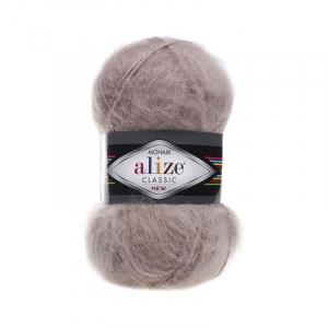 Пряжа ALIZE MOHAIR CLASSIK 541-норка (24% шерсть 25% акрил 51% акрил)