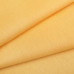 Бязь гладкокрашеная 120гр/м2 220 см на отрез цвет 362 манго
