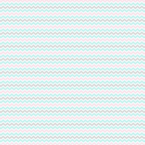Перкаль 150 см набивной арт 140 Тейково рис 13166 вид 1 Зигзаг розовый